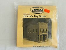 SMALLTOWN USA HO SCALE STRUCTURE BUILDING MODEL KIT ~ KELVIN'S TOY STORE #6021