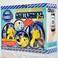 Public Toilet Survival Kit Prank Gift Box