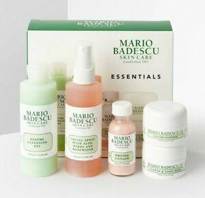 MARIO BADESCU The Essentials Kit -Rose Spray Drying Lotion Gel Tonic Mask Powder