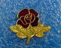 Lancashire Red Rose Enamel Badge