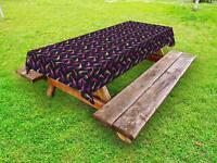 Giraffe Outdoor Picnic Tablecloth in 3 Sizes Washable Waterproof