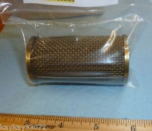 LYCOMING OIL SCREEN p/n 62817 AVIATION