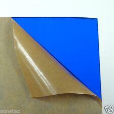 Acrylic Plexigrass Plastic Sheet Transparent Blue A4 size 2.5mm