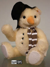 STEIFF Ltd MONTY THE SNOWMAN TEDDY BEAR 30cm / 12inch EAN 021718 RETIRED