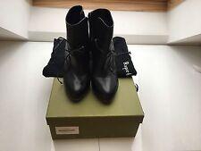 Rupert Sanderson Ankle Tie Boots Size 4.5