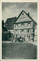 Ansichtskarte Gernsbach Gasthaus zum Laub   (Nr.9327) -II