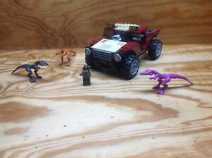 Lego 7296 Dino 4WD Trapper - 2005 - Not Complete