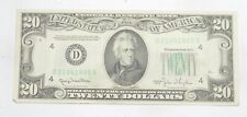 Better 1950 $20.00 US Federal Reserve Note Bill $20 *258