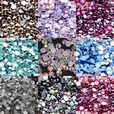 Glitter Rhinestones Non Hotfix Crystals Stones Gems For 3D Nail Art Decorations