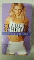 CLAUDIA SCHIFFER PERFECTLY FIT ABS Home Exercise Video VHS 1995