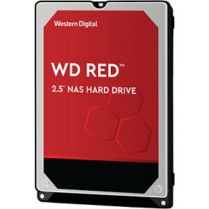 "HARD DISK INTERNO 1TB SATA III 2.5"" WESTERN DIGITAL WD RED PLUS NAS HARD DRIVE"