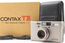 [ MINT ] Contax T3 35mm Point & Shoot Film Camera From JAPAN #1223