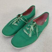 Keds Women's size 8.5 Green Flat Sneaker shoes