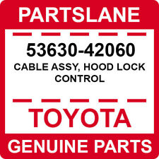 53630-42060 Toyota OEM Genuine CABLE ASSY, HOOD LOCK CONTROL