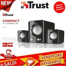 CASSE AUDIO TRUST 2.1 USB PC Altoparlanti Subwoofer per computer laptop MusiCA