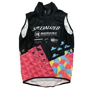 SPECIALIZED DEFLECT SL CYCLING JACKET VEST MENS SMALL