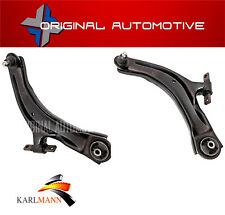 FOR NISSAN QASHQAI ,+2 J10E 2006-2015 FRONT LOWER SUSPENSION WISHBONE ARMS 2PCE