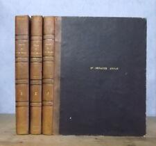 THEOLOGIE BIBLE HISTOIRE ANCIEN NOUVEAU TESTAMENT ET DES JUIFS (3 VOL. 105 GRAV.