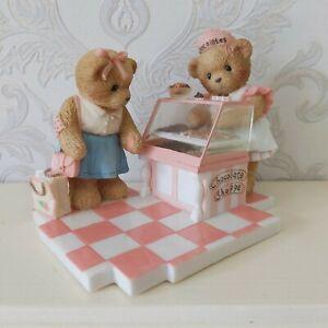 Cherished Teddies Club Exclusive Lindsay & Danielle CT0063 Chocolate Shop CS421