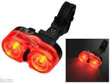 Oxford 2 X 0.5watt trasero luz Led para bicicletas bicis impermeable
