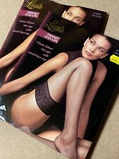 Lavante Fishnet Hold Ups Tall X Tall Naturel Two Pairs Available.