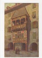 Austria, Innsbruck, Goldenes Dachl Art Postcard, A591