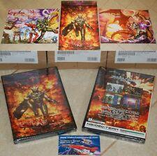 Gunlord + Big A1 Poster Dreamcast like Rendering Ranger Super Mega Turican NEW