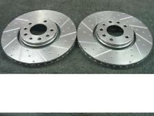 SAAB 9-3 VIGGEN DRILLED GROOVED BRAKE DISC FRONT 308MM