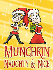 Munchkin Expansion Naughty & Nice And Booster Pack Steve Jackson Games New