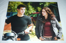 TAYLOR LAUTNER SIGNED TWILIGHT BREAKING DAWN NEW MOON 11X14 PHOTO COA