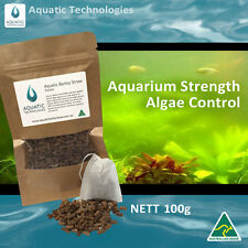 Aquatic Barley Straw Pellets 100g for Algae Control in Small Ponds & Fish Tanks
