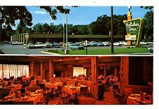 Holiday Inn Motel-Cars-Restaurant-La Porte-Indiana-Vintage Advertising Postcard