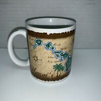2005 Hawaiian Islands Ceramic Coffee Mug Made In Hawaii