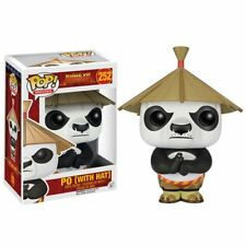 Kung Fu Panda Po with Hat Pop! Vinyl Figure-New in Packaging