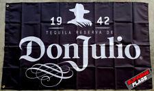 Tequila Don Julio Flag 3x5 ft Banner Alcohol Liquor Bar Man Cave Mexico Black