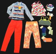 Gymboree Gymgo  lot 10 pcs Active Sport Girl top,Jacket, tshirt, Leggings M 7 8