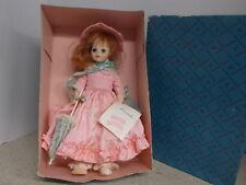 Madame Alexander Vintage Doll Lucinda Pink Dress Original Box Tags 1535