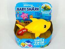 Pinkfong Baby Shark Water Activated Sing & Swim Bath Toy, Zuru Robo Alive Junior