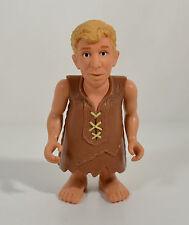"1993 Lawn Mowin' Barney Rubble 4.75"" Mattel Movie PVC Action Figure Flintstones"