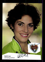 Katrin Lux Dahoam is Dahoam Autogrammkarte Original Signiert # BC 65340