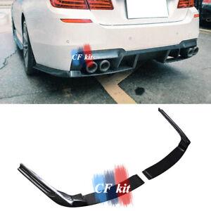 Carbon Fiber Rear Bumper Splitters Winglet Apron For 11-17 BMW F10 M5 PSM Style