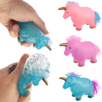 Squidgy Unicorn Toy Novelty Squeezy Stress Reliever Childs Squeezable Squidgies