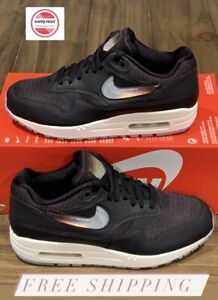 """Nike Air Max 1 JP """"Jelly Pack"""" Oil Grey AT5248-001 Women's Shoes Sz 8 US No Lid"""