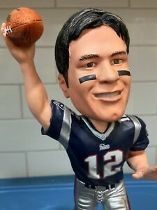 Forever Collectibles  -  New England Patriots Super Bowl 36 Tom Brady BobbleHead