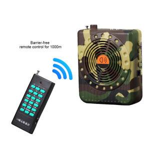 Tactical Hunting Decoy Bird Caller Predator Remote Control Sound MP3 Player Trap