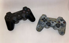 2x Genuine Sony PlayStation 3 Camo PS3 Sixaxis DualShock Controller OEM Wireless
