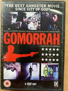 Gomorrah DVD 2-Disc 2008 Matteo Garrone Italian / Naples Crime Drama Film Movie