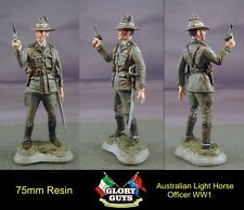 75mm Australian Light Horse Officer  Resin Kit  WW1