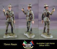 75mm Australian Light Horse Officer  Resin Kit  WW1