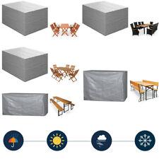 Funda protectora para muebles de jardín cobertor para mesa sillas bancos